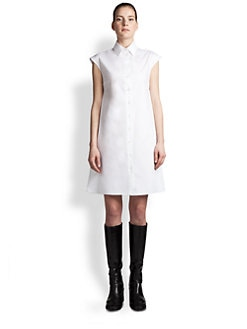 Jil Sander Navy - Cotton Shirtdress