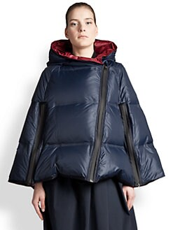 Jil Sander Navy - Puffer Cape