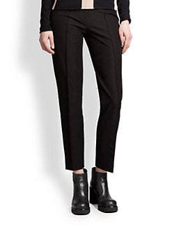 Jil Sander Navy - Cropped Wool Pants