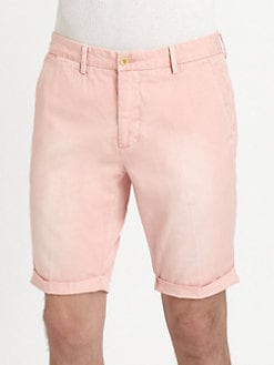 Gant Rugger - Cuffed Canvas Shorts