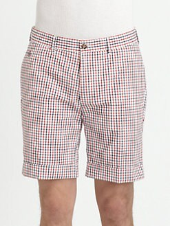 Gant Rugger - Tattersall Cuffed Shorts