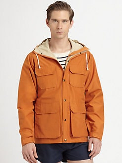 Gant Rugger - The Hiker Hooded Jacket