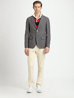 Gant Rugger - Two-Button Hopsack Blazer