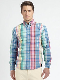 Gant Rugger - Madras Sportshirt