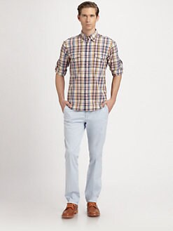 Gant Rugger - Madras Plaid Cotton Sportshirt
