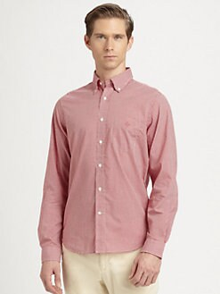 Gant Rugger - Checked Cotton Sportshirt