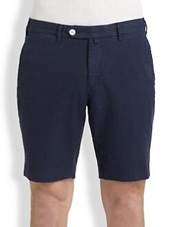 Gant by Michael Bastian - Overdyed Seersucker Shorts