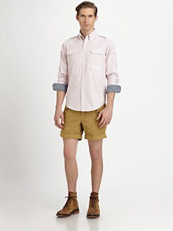 Gant by Michael Bastian - Multipocket Striped Sportshirt