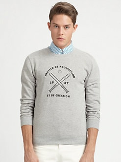 A.P.C. - Baseball Sweatshirt