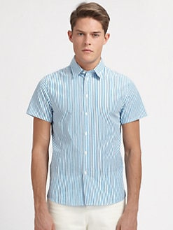 A.P.C. - Chemise Basic Striped Sportshirt