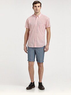 Bespoken - Short-Sleeved Cotton Shirt