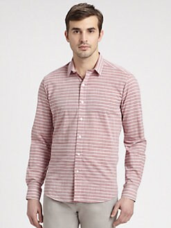 Bespoken - Heritage Striped Cotton Shirt