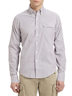 Gant by Michael Bastian - Striped Cotton Sportshirt