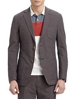 Gant by Michael Bastian - Checked Blazer