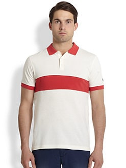 Gant Rugger - Contrast-Detail Cotton Polo Shirt