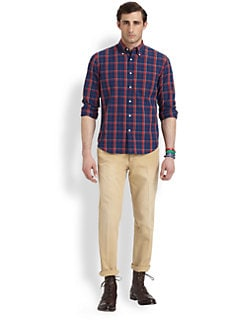 Gant Rugger - Madras Plaid Sportshirt