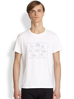 A.P.C. - Printed Cotton Jersey Tee