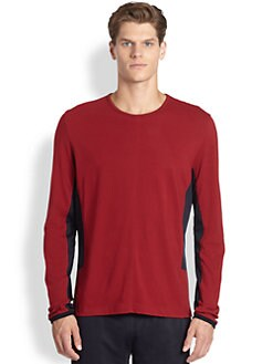 NUMBER:Lab - Tech Crewneck Tee