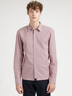 NUMBER:Lab - Plaid Woven Sportshirt