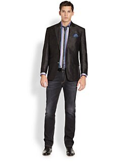Robert Graham - Shortwave Silk Blazer