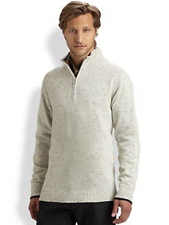Robert Graham - Hampton Zip Mockneck Sweater