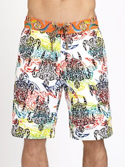 Robert Graham - Printed Board Shorts