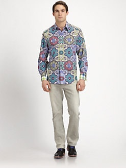 Robert Graham - Twist Paisley Sportshirt