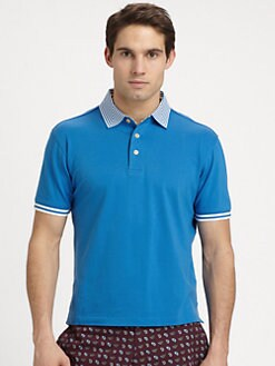 Robert Graham - Hayden Cotton Polo