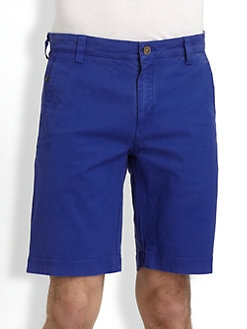 Robert Graham - Trekin Stretch Cotton Shorts