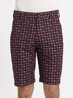 Robert Graham - Backrush Paisley-Print Shorts