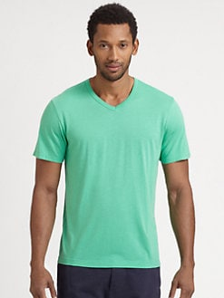 Splendid Mills - Jersey V-Neck Tee