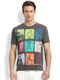 Robert Graham - Patchwork Graphic Tee