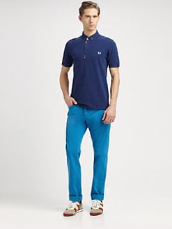 Fred Perry - Madras Trim Polo