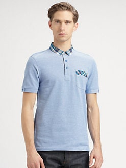 Fred Perry - Madras Trim Oxford Polo