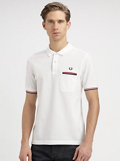 Fred Perry - Piped Pocket Polo