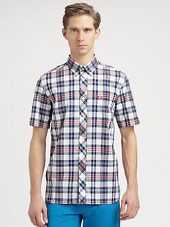 Fred Perry - Bold Checked Sportshirt