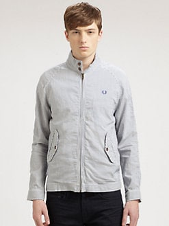 Fred Perry - Breton Twill Harrington Jacket