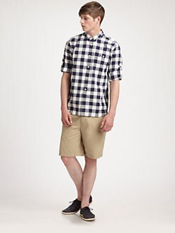 Fred Perry - Gingham Sportshirt