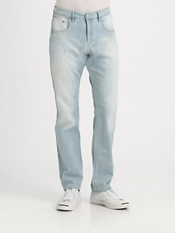 Robert Graham - Carefree Classic Straight-Leg Jeans