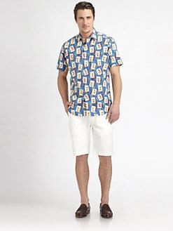 Robert Graham - Swizzle Printed Cotton Shirt