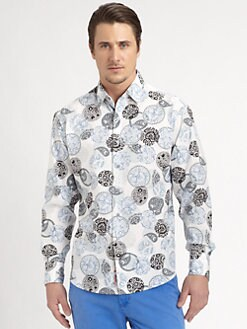 Robert Graham - Moeini Printed Cotton Shirt