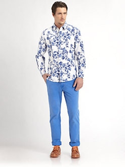 Robert Graham - Sveti Printed Cotton Shirt
