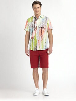 Robert Graham - Highball Printed Cotton Shirt