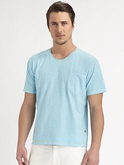 Robert Graham - Cheyenne Basic V-Neck Tee