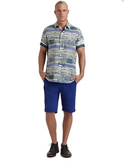 Robert Graham - Boulders Cotton Sportshirt