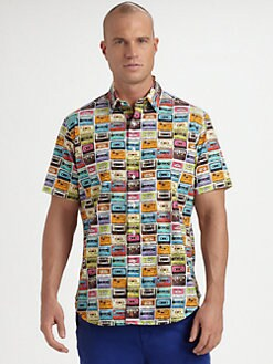 Robert Graham - Cassette Printed Shirt