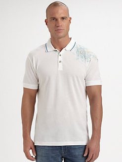 Robert Graham - Embroidered Polo Shirt