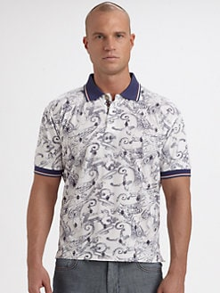Robert Graham - Grace Bay Polo Shirt
