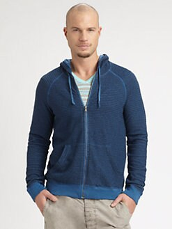 Splendid Mills - Marled Zip-Up Hoodie