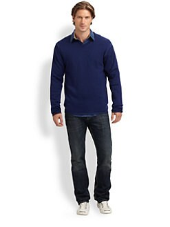 Robert Graham - Forest Merino Wool V-Neck Sweater